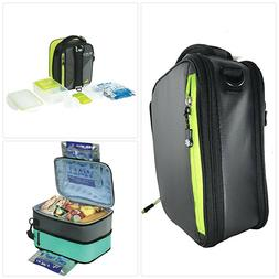 Arctic Zone 1 ultra Lunch Box Expandable Black/Gray
