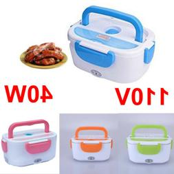 110V 40W Portable Electric Heated Heating Lunch Box Bento Tr
