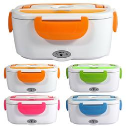 110V ELECTRIC Heated US Plug Heating LUNCH BOX Portable Bent