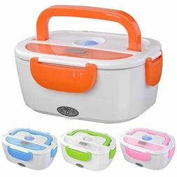 12V Portable Electric Heating Lunch Box Food Heater Bento Wa