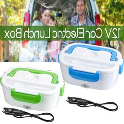 12V Portable Car Electric Heating Lunch Box Food Heater Bent