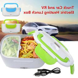 12V Portable Electric Heating Lunch Box For Car Food Storage