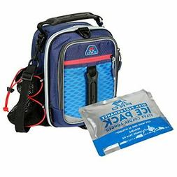 Arctic Zone 1349AM333A56 Insulated Lunch Pack, Navy