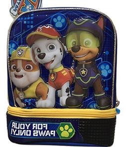 "Paw Patrol ""For Your Paws Only"" 2 Compartment Insulated Lunc"
