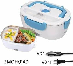 2 in 1 Electric Lunch Box for Women Men Portable Food Heater