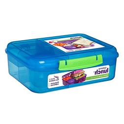 Sistema 41690 Collection Bento Lunch Box 6.9 Cup, Solid Asso
