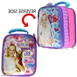"8"" JoJo Siwa Dream Star Crazy Big Girls Lunch Bag/ Box"