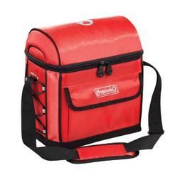 Coleman 9-Can Urban Soft Cooler with Liner, Red
