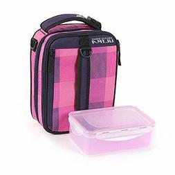 Arctic Zone High Performance Expandable Lunch Pack, Pink/Pur