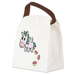 CafePress - Unicorn Sweets Canvas Lunch Bag - Canvas Lunch B