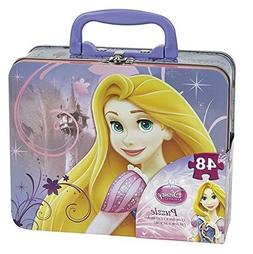 Disney Princess 48pc Puzzle Tin - Lunch Tin Box