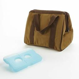 Fit & Fresh Men's Big Phil Insulated Lunch Bag with Ice Pack