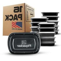 Fitpacker Meal Prep Containers - USA Quality - BPA Free Food