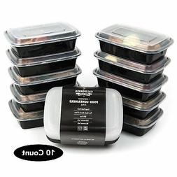 Reusable Food Containers, 1 Compartment Lunch Containers, Me