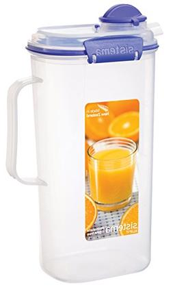 Sistema KLIP IT Utility Collection Juice Pitcher, 67.6 oz./2