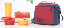TP-860-T187 Tupperware Premier Lunch  With Two Bowls, One Tu