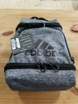 Adidas Excel Lunch Bag, Onix Jersey/Black, One Size