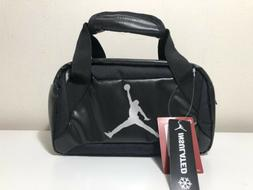 Air Jordan Black Insulated Lunch Box Tote Lunchbox Lunch bag