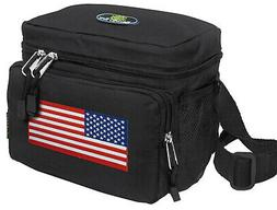 American Flag Lunch Box Cooler Bag BEST USA Lunchboxes WELL