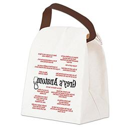 CafePress - Grey's Anatomy Quotes Canvas Lunch Bag - Canvas