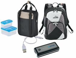 BACK TO SCHOOL/COLLEGE high sierra BackpacK & LUNCH BOX & ce