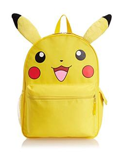 Backpack - Pokemon - Pikachu Face 16 New Boys School Bag 839