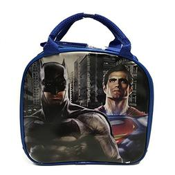 Batman vs Superman Blue Lunch bags/box with Water Bottle