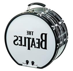 The Beatles Drum Shaped Tin Lunch Box Metal Collectible - 8x