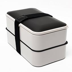 Bento Box ,BOQUN 2 Lier Lunch Box, 1200ML Food Storage Conta