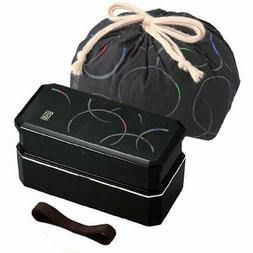 Bento Boxes Osk 1 X Cool Japanese Lunch Belt Bag Chopsticks