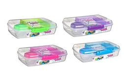 Bento Box TO GO - Reusable Lunch Box Containers for Kids & A