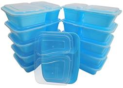 Table To Go 20-Pack Bento Lunch Boxes with Lids  | Microwave
