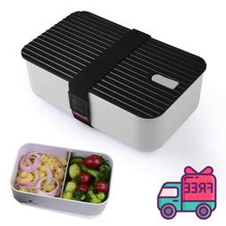 Bento Lunch Box Stylish Designer Two Compartment Easy Cleani