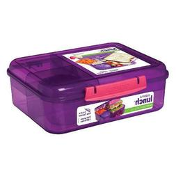 Sistema Bento Lunch to Go Lunchbox, Purple