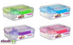 Sistema Bento Lunch To Go1.65L Healthy Eating Work School Lu