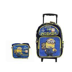 "Black and Blue Dial 5 for Minion Despicable Me 16"" Rolling B"