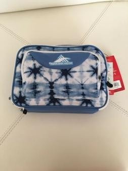 High Sierra Blue and white back to School Lunch Box NWT