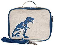 blue dinosaur insulated lunch