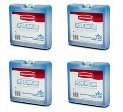 "Rubbermaid Blue Ice Weekender 4-Pack 7"" x 6.7"" For Cooler Lu"