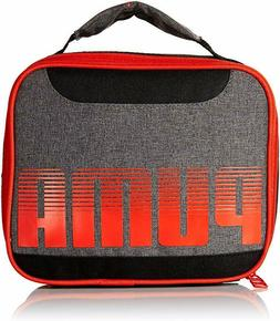 PUMA Boys' Little Backpacks and Lunch Boxes, Red/Black, Yout