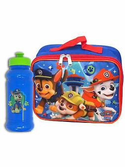 Boys Paw Patrol Lookout Tower Insulated Lunch Bag and Water