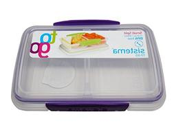 Sistema BPA-Free Small Split Reusable Food Storage Container