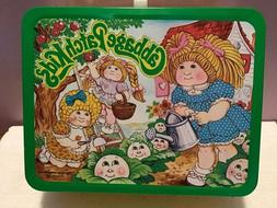 Cabbage Patch Kids Metal Lunch Box -1983 - New Old Stock Wit