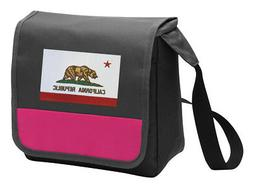 California Flag Lunch Bag Girls Cooler Ladies Lunchbox Bags
