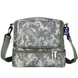 Wildkin Digital Camo Double Decker Lunch Bag