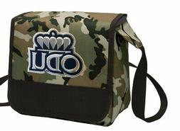 camo old dominion university lunch bag shoulder