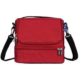 Wildkin Cardinal Red Double Decker Lunch Bag