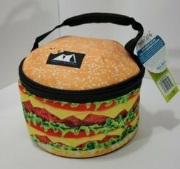 Arctic Zone Cheeseburger Lunch Box. NWT. Very Unique.