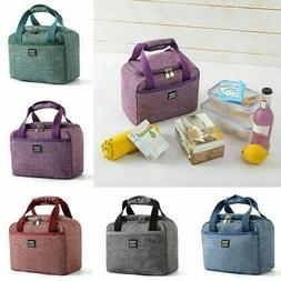 Children Kids Adults Lunch Bags Insulated Cool Bag Picnic Fo