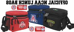 COLLEGE Logo LUNCH BAGS -OFFICIAL NCAA COOLERS Lunchboxes- S